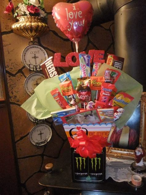Dy Bouquet With Monster Energy Drink Base Craft