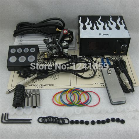 tattoo gun and kit complete tattoo kit set tattoo gun power supply needle