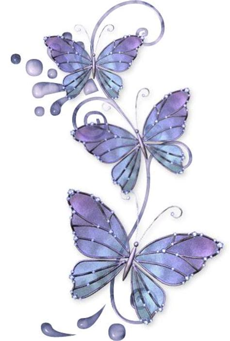elegant purple butterflies tattoo design tattooshunt com