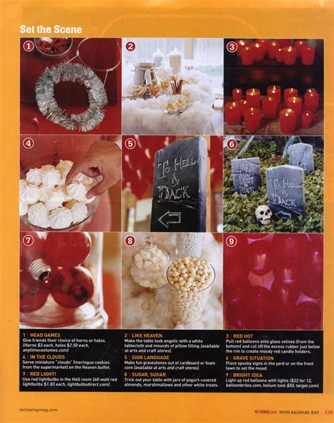 heaven themed decorations heaven hell by erika lenkert hostess with the