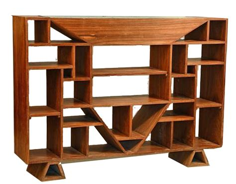 bookshelves dividers cubist room divider bookcase att to jacques adnet c 1930 modernism