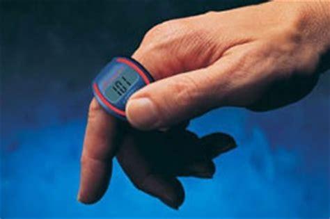 conta vasche cronometro con vibrazione da dito sportcount