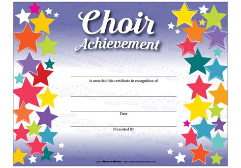 choir certificate template choir certificate template choir award certificate