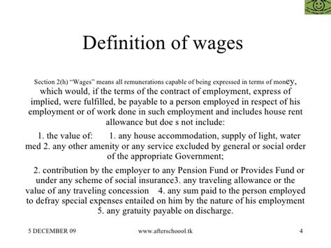 wage meaning minimum wages act 1948