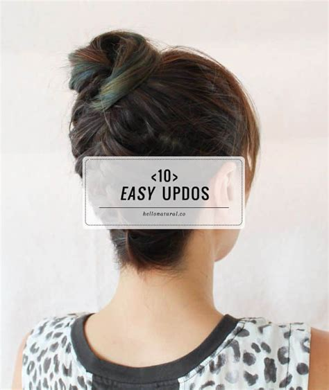 easy hairstyles you can do with one hand 10 easy updos you can actually do with 2 hands hello glow