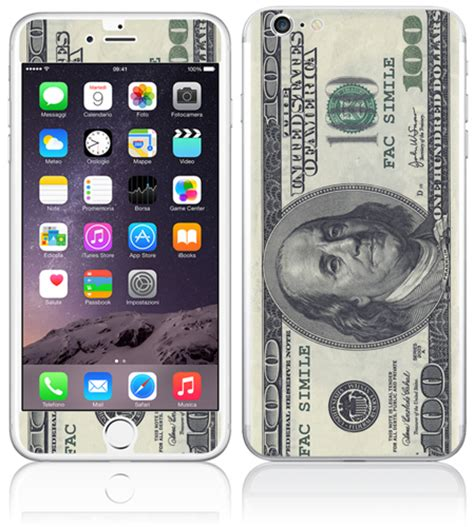 Iphoneapple Ori 100 apple iphone 6 plus 100 dollars coolstickerz