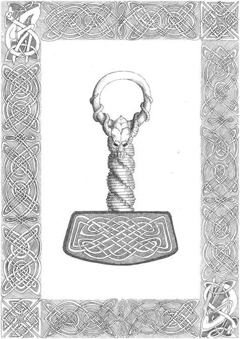 thor hammer le 1000 id 233 es sur le th 232 me tatouage de marteau de thor sur