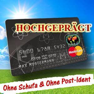 deutschland kreditkarte schufa mastercard kreditkarte hochgepr 228 gt mit kreditrahmen ohne