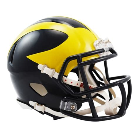 college football helmet design history university of michigan football helmet maize n blue