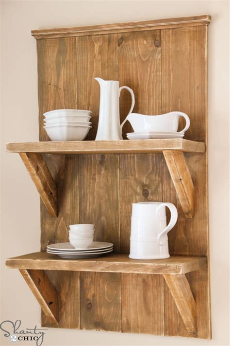 simple wood shelves pdf diy free wood shelves projects simple bread