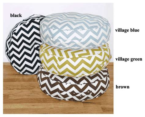 modern floor cushions zig zag 20 quot indoor and outdoor floor pillow modern