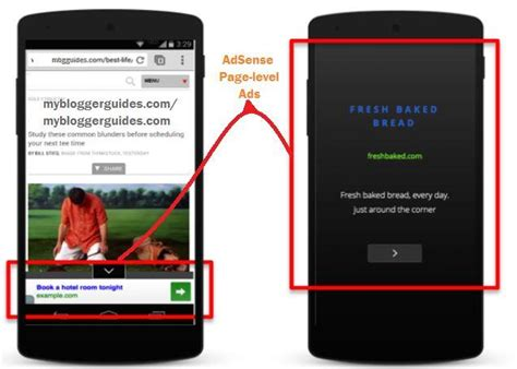 adsense mobile how to add adsense page level ads in for mobile