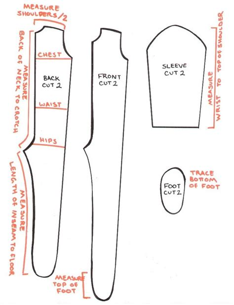 jumpsuit paper pattern onesie pajamas pinteres