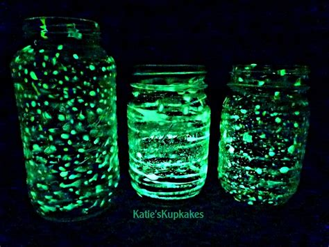 glow in the paint universe glow in the universe jars jars and glow in the