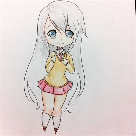 Imagenes De Anime Kawaii Para Dibujar | dibujo kawaii cute anime on instagram