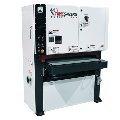 1300 series wide belt sander timesavers llc