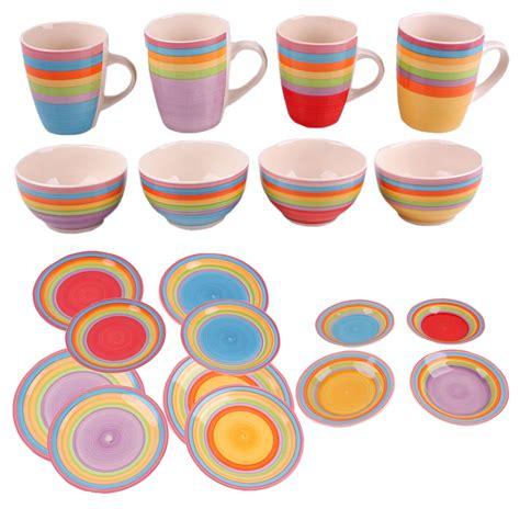 Keramik Geschirr Bunt by Geschirr Bunt M 246 Bel Design Idee F 252 R Sie Gt Gt Latofu