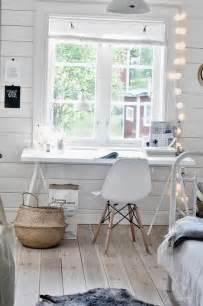 comment meubler et d 233 corer un bureau scandinave blanc