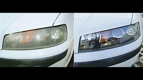 Auto Scheinwerfer Polieren Youtube by Vergilbte Scheinwerfer Polieren T 220 V Beanstandung Youtube