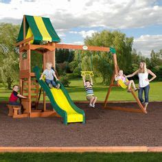 Backyard Discovery Weston Swing Set 1000 Images About Playsets For Small Yards On