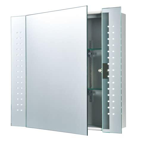 bathroom mirror shaver endon revelo led shaver bathroom mirror cabinet ip44 5w