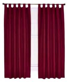 curtains 54 length ellis curtain crosby thermal insulated 80 by 54 inch tab