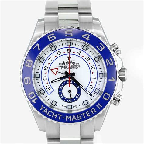 Rolex Yatch Master 2 rolex 116680 yacht master ii steel box and papers