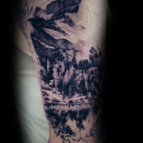 90 paisaje tatuajes para los hombres ideas de dise 241 o