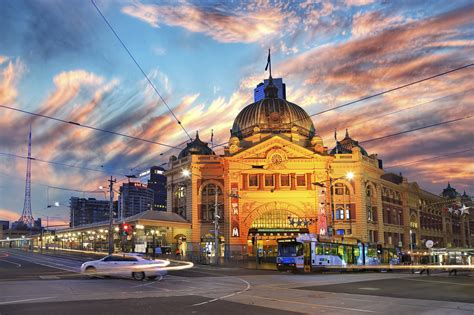 cool wallpaper melbourne flinders street railway station melbourne full hd