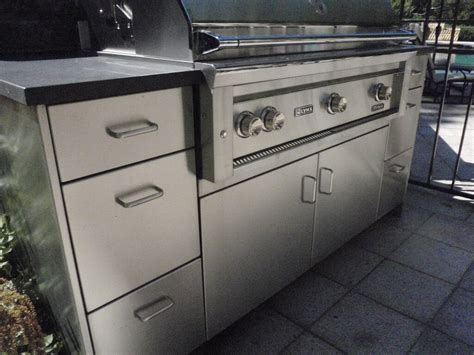 outdoor stainless steel cabinets stainless steel outdoor countertops brooks custom