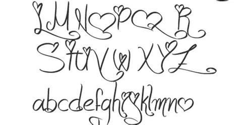 tattoo font mac girly alphabet fonts apr they can berkley font