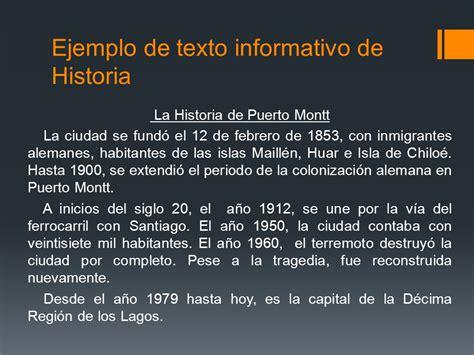 ejemplo de texto informativo el texto informativo lenguaje y comunicaci 243 n tercer a 241 o