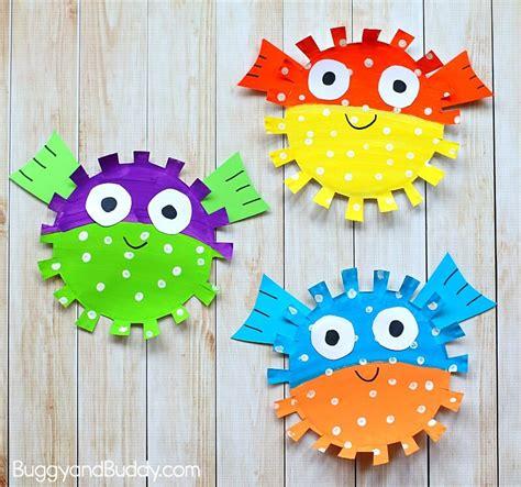 puffer fish craft 15 fun fish craft ideas the best ideas for kids