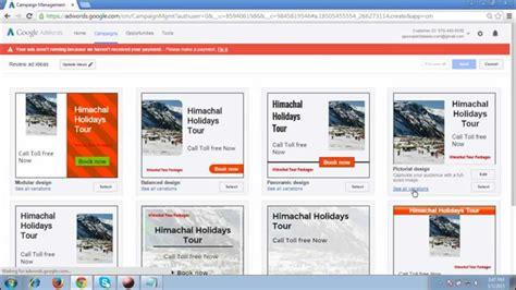 google adwords display ads tutorial  youtube