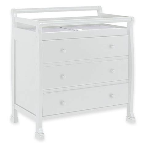 Davinci Kalani Mini Crib White Davinci Kalani Mini Crib In White Gt Davinci Kalani 3 Drawer Changer Dresser In White From Buy