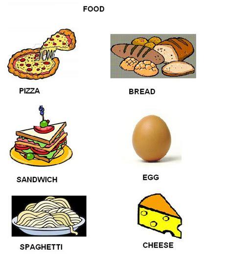 alimenti in inglese scheda didattica cibi inglese