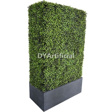 Hedge Planter Bag Small customized sizes artificial hedge with weathering steel planter big dongyi