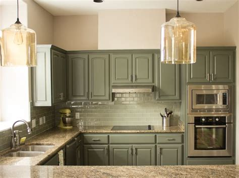 25 best ideas about repainted kitchen cabinets on