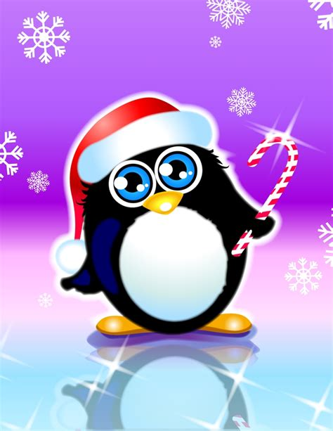 image gallery holiday penguin