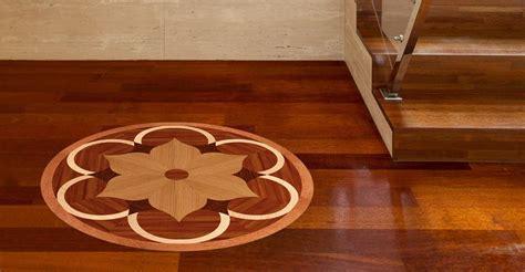Wood Floor Medallions   Handcrafted Wooden Flooring