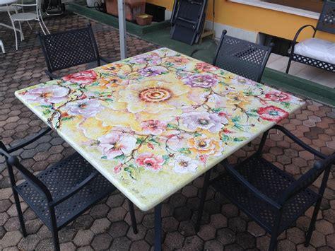 tavoli ceramica deruta domiziani roberto tavolo 140 x 140 ceramica deruta
