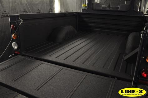 line x bed liner land rover s with line x line x uk
