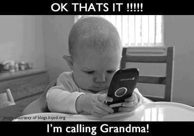 where im calling from im calling grandma pictures photos and images for facebook and twitter