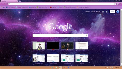 themes para google chrome anime infinity theme for google chrome by valedechocolate on