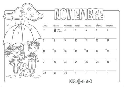 Calendario Y Sus Dibujos Calendario Infantil 2016 Para Imprimir Y Colorear
