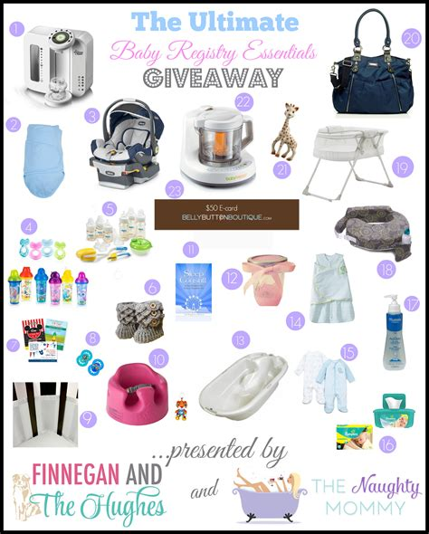 Baby Giveaways 2014 - the ultimate baby registry essentials giveaway