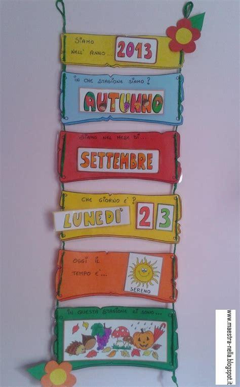 Il Calendario Maestra Nella Il Calendario