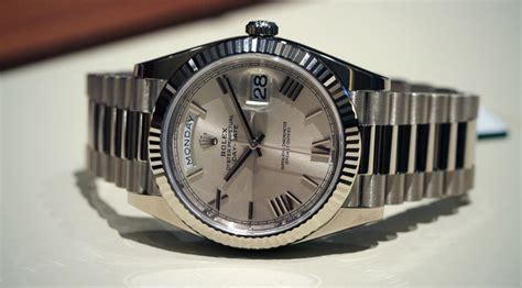 model date rolex launches the day date 40