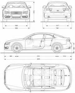 Audi A5 Dimensions The Blueprints Blueprints Gt Cars Gt Audi Gt Audi A5 2008