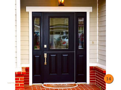 Single Glass Exterior Door Trendy Black Front Doors For 2018 Todays Entry Doors